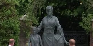 Statua Lady Diana: William e Harry a Kensington Palace