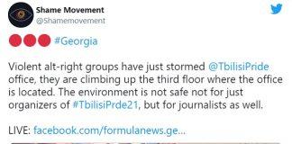 Tbilisi: annullata manifestazione del Pride dopo violenze