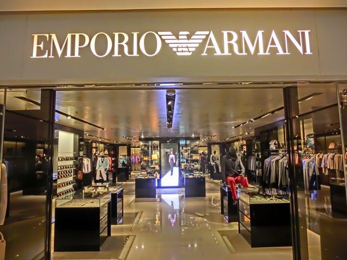 Vendite Armani primo semestre 2021