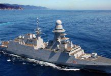 fregata italiana lanciamissili