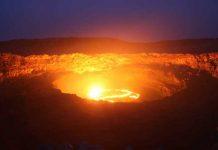 vulcano di fango azero Ignatiy Stone Bank