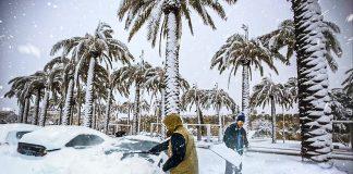 freddo record in Brasile