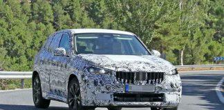 Nuova BMW X1 foto spia