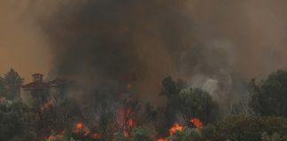 Devastanti incendi in Grecia