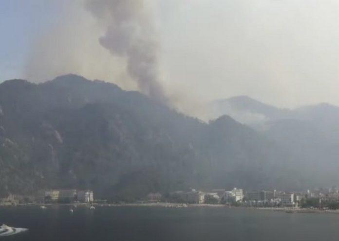 Incendi in Turchia