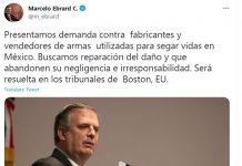 Messico fa causa alle aziende di armi degli USA