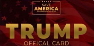 """Trump Card: la carta """"ufficiale"""" dei sostenitori di Trump"""