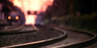 Uomo travolto da un treno