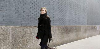Inverno 2021: cappotto caban blu