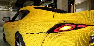 La Toyota GR Supra Lego