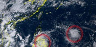 Due tempeste sul Pacifico