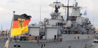 Cina blocca fregata tedesca