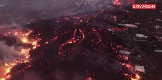 vulcano nelle Isole Canarie