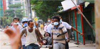 Myanmar: scontri a fuoco