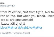 arab live matter