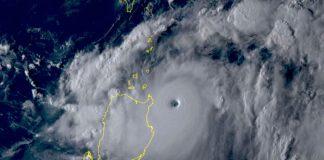 Taiwan sfiorata dal Super Tifone