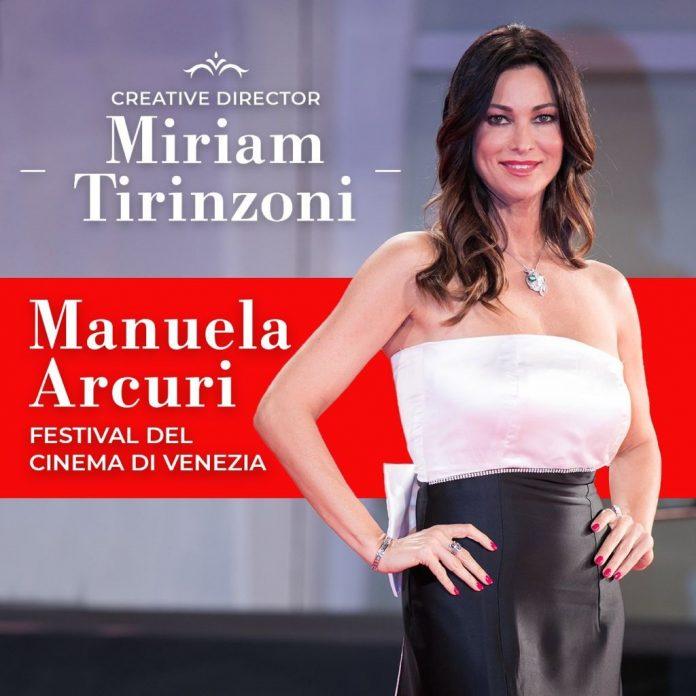 Manuela Arcuri abito Miriam Tirinzoni