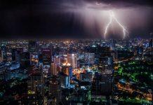 Energia dei fulmini