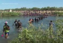 Migranti haitiani al confine USA