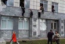 Sparatoria in Russia