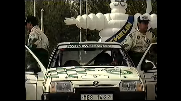 skoda favorit rally