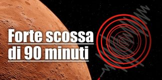 Forte terremoto su Marte