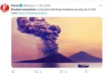 L'impatto delle eruzioni