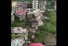 Crolla edificio
