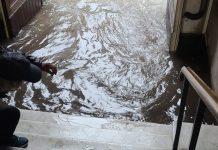 Disastrosa alluvione