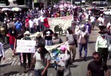 El Salvador: migliaia in piazza contro il governo Bukele