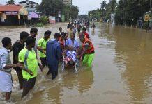 inondazione in India