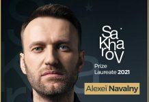 Premio Sacharov 2021: vince Aleksej Navalny
