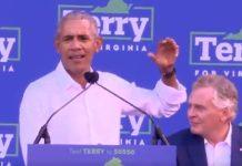 Obama scende in campo in Virginia per McAuliffe