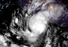 Tempesta Rick diventa Uragano