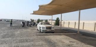 cimitero auto dubai