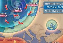 Ripetute tempeste Atlantiche