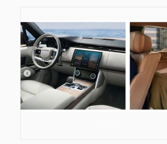 Nuove anticipazioni Range Rover 2021