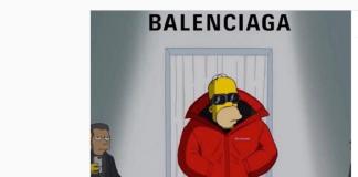 Sfilata cartoon Simpson